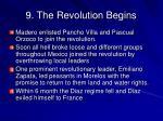 9 the revolution begins