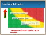 lam risks and strategies