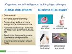 organized social intelligence tackling big challenges