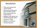 s ecularism