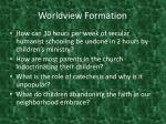 worldview formation3