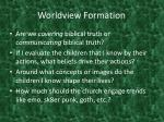 worldview formation5