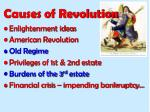 causes of revolution