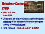 estates general 1789