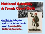 national assembly tennis court oath