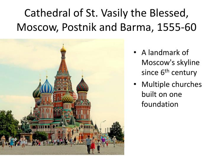 cathedral of st vasily the blessed moscow postnik and barma 1555 60 n.