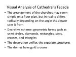visual analysis of cathedral s facade
