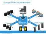 storage node implementation