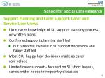 support planning and carer support carer and service user views