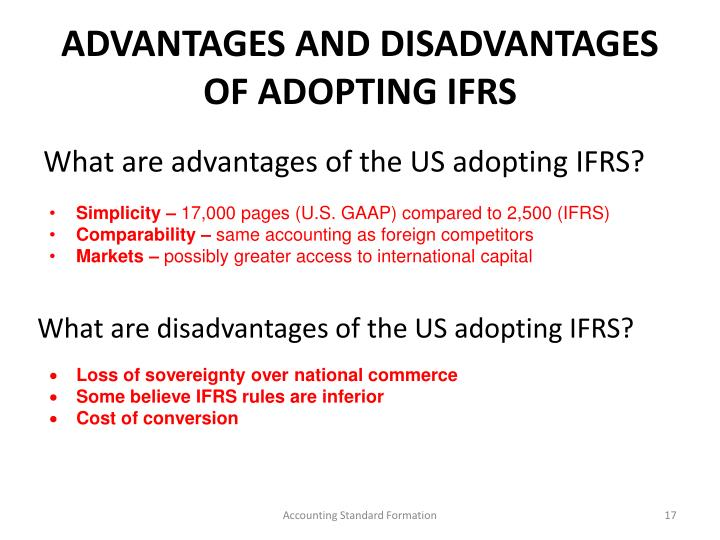 advantages of ifrs
