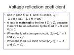 voltage reflection coefficient3