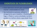 exerc cios de flexibilidade