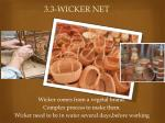 3 3 wicker net