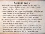 genesis 12 1 5