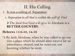 ii his calling15