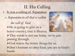 ii his calling18