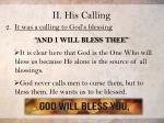 ii his calling19