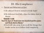iii his compliance2