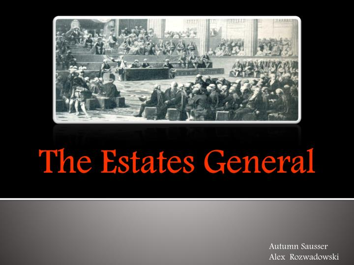 the estates general n.