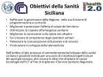 obiettivi della sanit siciliana