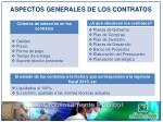 aspectos generales de los contratos