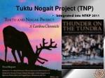 tuktu nogait project tnp