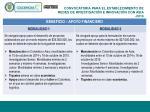 convocatoria para el establecimiento de redes de investigaci n e innovaci n con asia 20141