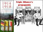 triple alliance s propaganda