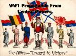 ww1 propaganda from central powers