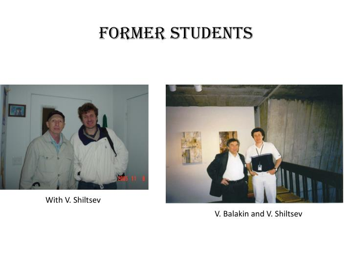 Former students