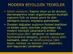modern b yoloj k teor ler1