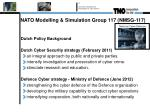 nato modelling simulation group 117 nmsg 1175