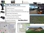 tno test bed tools