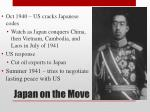 japan on the move