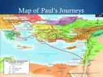 map of paul s journeys