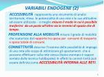 variabili endogene 2
