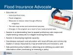 flood insurance advocate