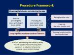 procedure framework