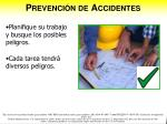 prevenci n de accidentes1