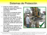 sistemas de protecci n