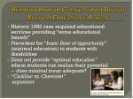 hendrick hudson central school district board of education v rowley