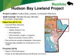 hudson bay lowland project1