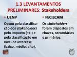 1 3 levantamentos preliminares stakeholders1