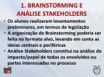 1 brainstorming e an lise stakeholders1