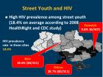 street youth and hiv