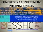 congresos conferencias internacionales