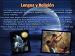 lengua y religi n