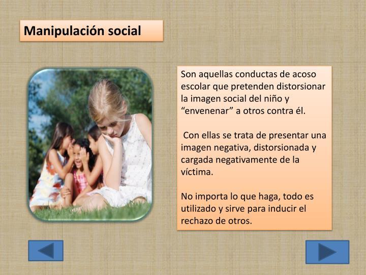 Manipulación social