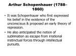 arthur schopenhauer 1788 1860