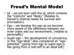 freud s mental model